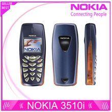 US $17.09 Refurbished Nokia 3510 3510i cheap gift phone 2G GSM Dualband classic Mobile Phone Russian Keyboard Free Shipping. Aliexpress product #refurbishedphones