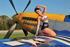 1940's Pin Up Calendars, WWII Fighters and Bombers - Warbird Pinup Girls