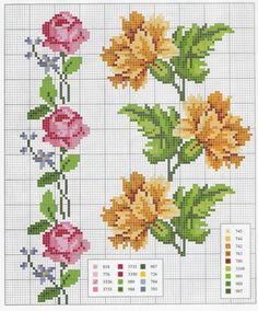ponto-cruz-flores-punto-de-croce-fleur-1-500x400 78 gráficos de flores em ponto cruz para imprimir