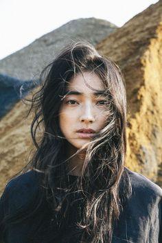 Face. Portrait. Pose. Hair. Clothes. Female. Sawa Nimura