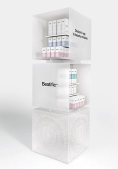 Beatific, new skincare line | mousegraphics