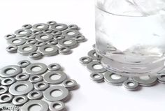 This easy craft shows you how to wip together some DIY coasters using washers you can buy at the hardware store. You won't believe how quick and easy it is to make these. Best of all, they have a contemporary flair that looks great with any decor. Supplies for DIY …  Continue reading →