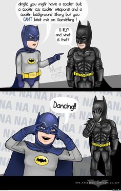 Adam West For The Win! And the silly noises BAM POW BOOM!