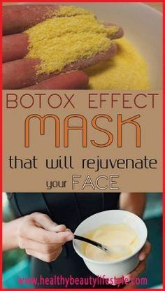 Botox Effect Mask That Will Rejuvenate Your Face Want to give your skin a real lift, without going to an MD? Try this natural face mask to look younger. Beauty Care, Diy Beauty, Beauty Skin, Beauty Ideas, Face Beauty, Homemade Mask, Homemade Beauty, Beauty Hacks For Teens, Natural Beauty Tips