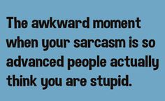 The Awkward Moment When Your