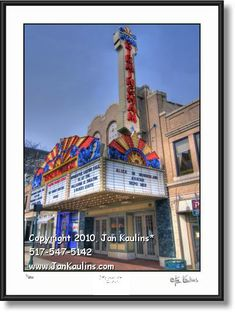 BIRMINGHAM MI THEATRE photo fine art print