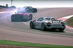 Hypercar-Vergleichstest: LaFerrari, McLaren P1 & Porsche 918