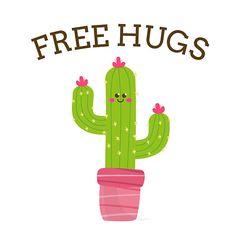 'Free Hugs' by lartelier Free Hugs, Tropical Art, Cool Designs, Prints