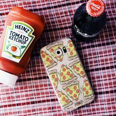 Pizza phone case for pizza lovers! Tap the link in the bio and see much more #iphone #phonecase #samsung. Phone case by Gocase www.shop-gocase.com