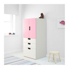 IKEA STUVA storage combination w doors/drawers Doors with silent soft-closing damper.