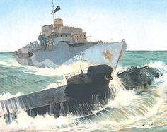 "Commander Thomas H. Beament - ""HMCS Ville de Quebec Gets a Sub"""