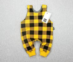 plaid romper, baby romper, baby unisex clothes, gender baby outfit, baby boy romper, baby shower gift, baby outfit, newborn outfit
