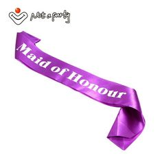 Wedding Bachelorette Sash