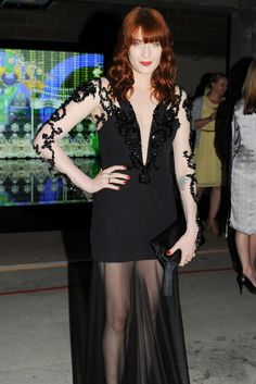 Florence Welch - Love her music and this dress! YAY for Florence + the Machine