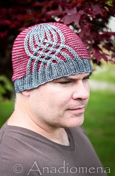 Ravelry: Graffiti Hat pattern by Elena Nodel  #knitting #hat