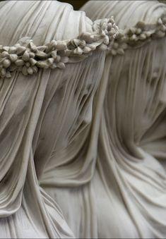 Veiled figures,Raffaelo Monti (1818–1881)