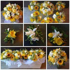 June Wedding - www.DragonflyFloral.com - #sunflowers #dragonflyfloral Wedding Tips, Our Wedding, Dream Wedding, Wedding Stuff, June Events, Best Friend Wedding, Wedding Decorations, Table Decorations, Krystal