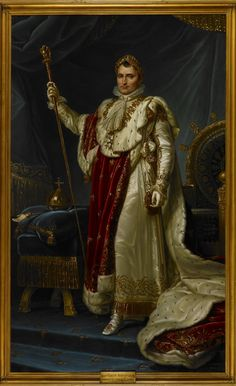 #NapoleonBonaparte was born on the 15 August 1769. This 1813 painting, featured in our current #BLPropaganda exhibition shows Napoleon as he wished to be depicted – exuding power as emperor.