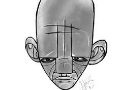 face one by Meta Sapient  #illustration #dibujo #ilustración