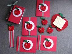 Apples hama beads
