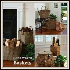 Wire Baskets & Chicken Eggs