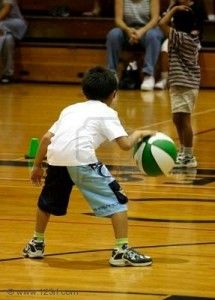 dribbling-basketball games for young players