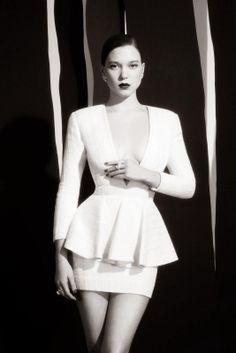 Lea Seydoux & Vincent Cassel - L'Express Styles Magazine France February 2014