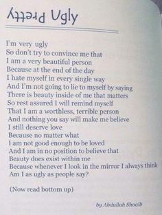 ʎʇʇǝɹԀ Ugly by Abdullah Shoaib