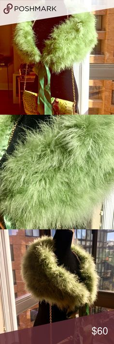 Stunning Marabou Feather Shoulder Wrap Royal Green STUNNING! Marabou Feather Shoulder Wrap in Royal Green! A Lustrous Lining and a Feminine Ribbon! Brand New w/o tags! Pictures Do Absolutely No Justice! A Must for A Stylish Lady! Unique and Truly One of a Kind! Wear it with an Evening Gown or Stylish Jeans & Jacket! Perfect for Holidays! bebe Accessories Scarves & Wraps