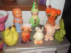 Retro 2, Bunny Toys, Vintage Children, Vintage Toys, Vintage Antiques, Creepy, Childhood, Memories, Christmas Ornaments
