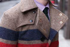 Hermoso modelo para algun futuro invierno. Total, la moda se recicla constantemente.