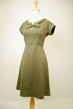 The Amelie Dress - Olive Green $119