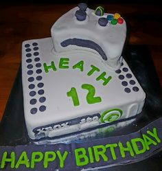 XBox 360 cake with controller