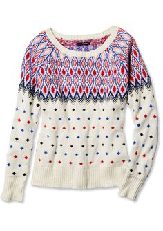 Shop 11 Non-Ugly Holiday Sweaters - American Eagle from #InStyle
