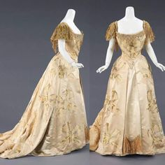 Ball gown by the House of Worth,  c.a. 1903. Metropolitan Museum of Art.