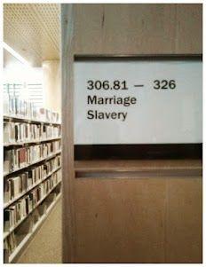 Ahhh... Dewey Decimal humor