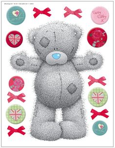 Tatty Teddy Big Bear by Me to You : Wallpaper Direct