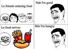 Hungry for Food