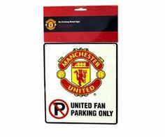 Manchester Utd No Parking fan 25 x 22.5cm by Manchester. $9.99. Manchester Utd No Parking fan 25 x 22.5cm