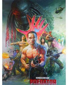 Predator 1987 Art by #Tongdee Panumas
