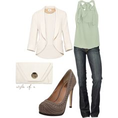 """Simple Night Out"" by styleofe on Polyvore"