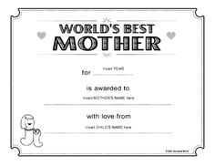 Years my mother your mom will really get a laugh from this very father day printable certificates collection of exclusive printable certificate template for dad to present him and make him feel honor yadclub Gallery
