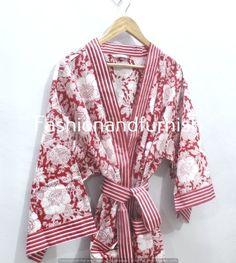 Kimono Dress, Kimono Jacket, Kimono Cardigan, White Kimono, Floral Kimono, Festival Outfits, Festival Clothing, Cotton Kimono, Cotton Fabric