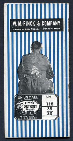 """1923-24 Finck's """"Detroit Special"""" Pocket Memo Book"""