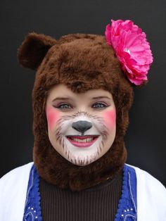 stage make up for a bear - Google Search