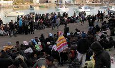 """Situazione hotspot di Lampedusa sistemata: Il sindaco Martello """"Alle volte alzare la voce è necessario"""" La """"provocazione"""" del sindaco è andata a segno......"""