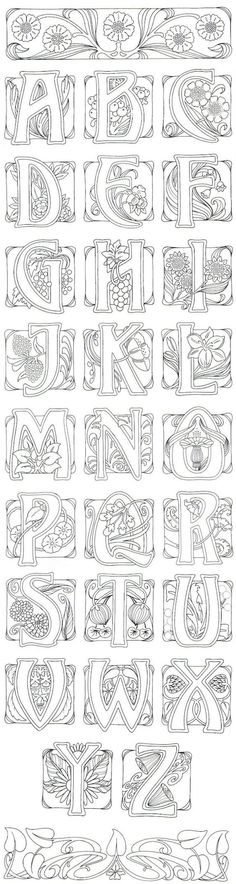 Art Buchstaben: