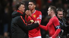 LVG, Smalling, Rooney