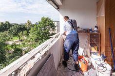 Demontage des alten Fensters und Vorbereitung für den Glattanstrich für die ÖNORM-Fenstermontage B5320!  #Fenstermontage #Linz
