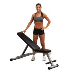 Body Solid Powerline Flat Folding Home Gym Workout Multi-Bench Press Adjustable Weight Bench, Adjustable Dumbbells, Weight Training Programs, Effective Ab Workouts, Workout Bauch, Weight Benches, Thing 1, Best Flats, Gym Workouts
